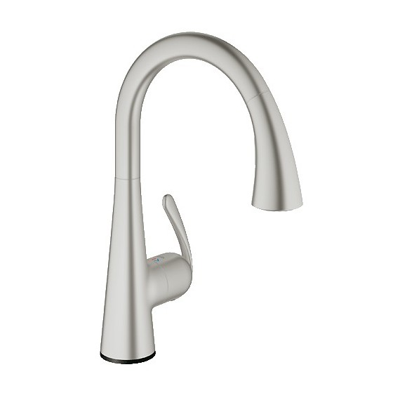 Buy GROHE 30205DC0 LadyLux Cafe Touch Kitchen Faucet at Discount ...