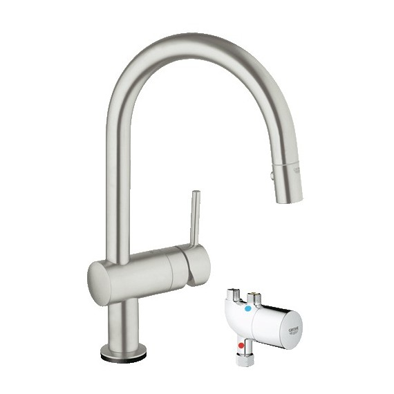 GROHE 31392DC0 Minta Touch Kitchen Faucet wMicroTherm Unit  sc 1 st  Kolani Kitchen u0026 Bath & Buy GROHE 31392DC0 Minta Touch Kitchen Faucet wMicroTherm Unit at ...