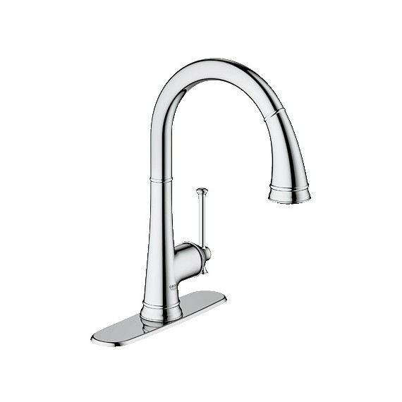 Buy Grohe 30210 Joliette Pull Down Kitchen Faucet At Discount Price