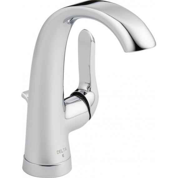 delta 15724lf single handle lavatory faucet - Delta Single Handle Bathroom Faucet