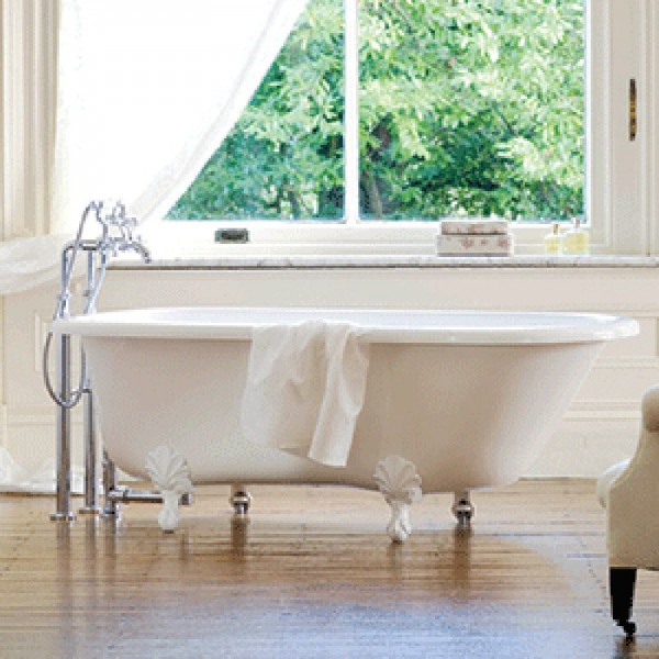 Buy Victoria + Albert Hampshire Single Ended Tub and Ball and Claw ...