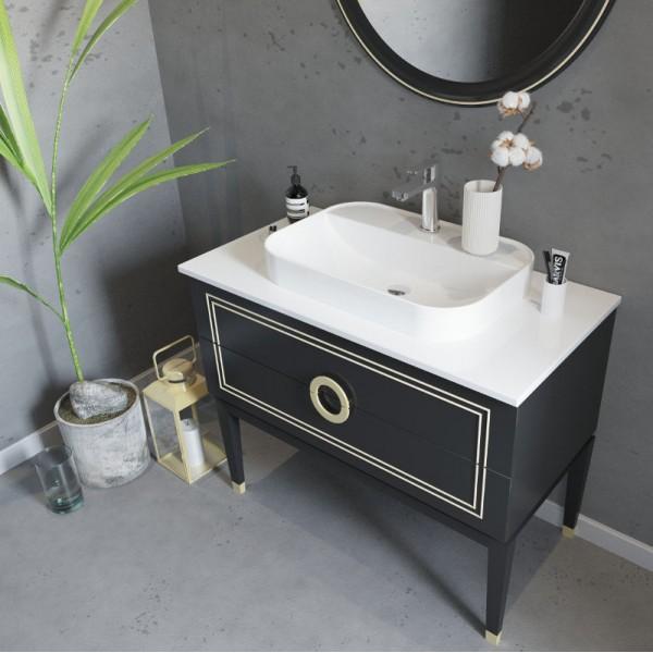 Buy Virta Sarah Floor Mount 36 Inch Single Sink Vanity At Discount Price At Kolani Kitchen Bath In Toronto
